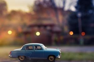 Auto's in dromen
