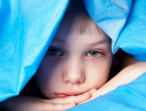 kind onder deken