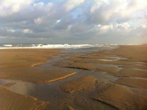 strand bij eb
