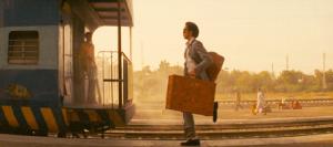de trein missen