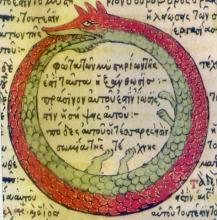 Serpiente Alquimica, 1478, Theodore Pelecanos