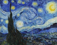 De Sterrennacht, Vincent van Gogh, MOMA New York